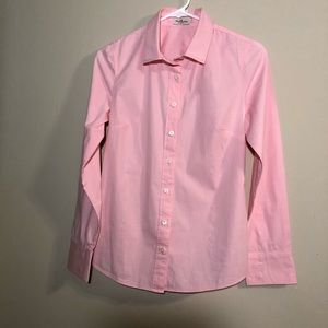 J Crew Haberdashery Pink Button Down Shirt